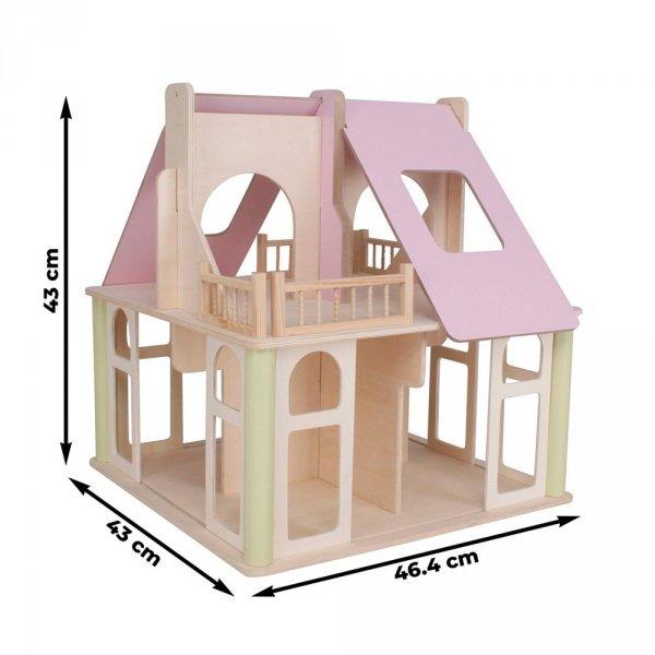 Otwartuś - przestrzenny domek z 4 lalkami i akcesoriami w zestawie! - przedsprzedaż