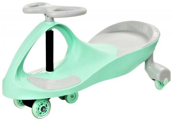 Pojazd dziecięcy TwistCar - Pastelova mięta Świecące kółka!