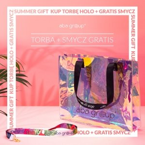 Zestaw Torba Holo Aba Group + smycz Aba Group GRATIS