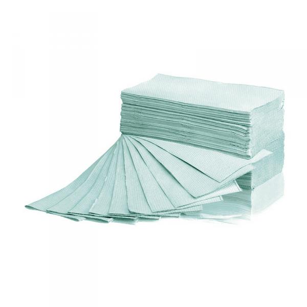 Ręcznik ZZ Makulatura zielony 4000 listków