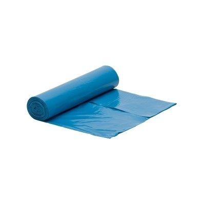 Worek niebieski na śmieci LDPE 60 L/rolka 50 szt