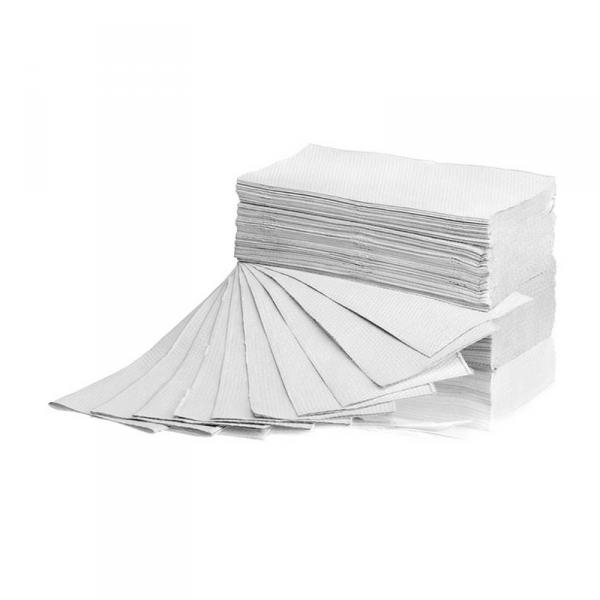 Ręcznik ZZ Makulatura biały 4000 1W