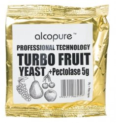 TURBO FRUIT DROŻDŻE DO OWOCÓW + PEKTOLAZA DO 50L