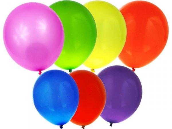 MJ-2208 BALONY KOLOROWE PASTELOWE 15 SZT Urodziny Party