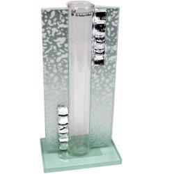 0224 Wazon szklany z kamieniami