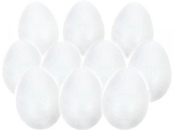 JAJKO STYROPIANOWE 15 cm Jajka Jajo Jaja Wielkanoc