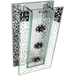 9150 Wazon szklany z kamieniami