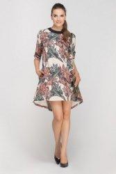 Sukienka mini w stylu lat 60.