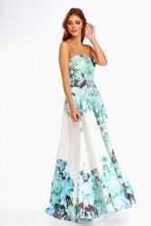 Sukienka maxi z odkrytymi ramionami M69694_1
