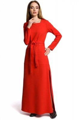 M354 Sukienka czerwona