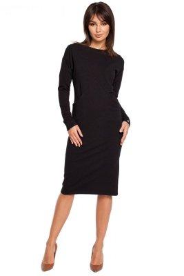 B006 sukienka czarna