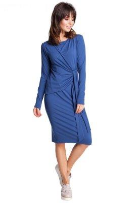 B013 sukienka niebieska