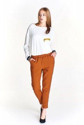 Eleganckie spodnie z lampasem
