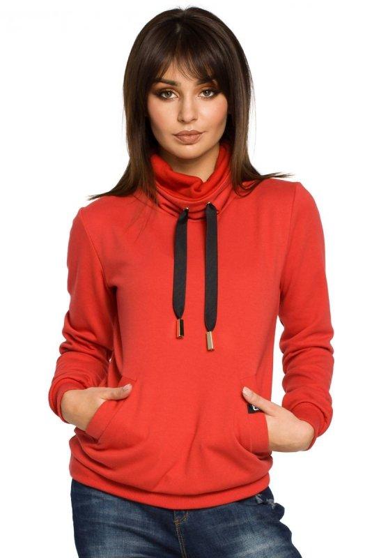 B055 bluza czerwona