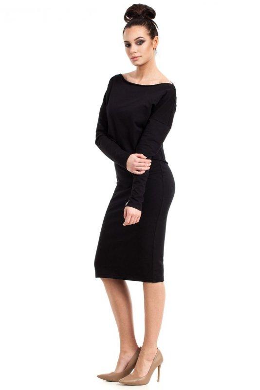 B001 sukienka czarna