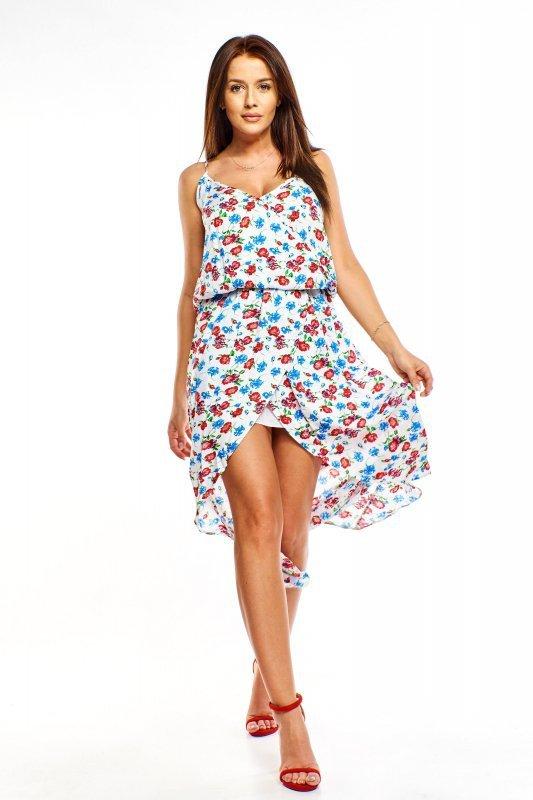 Zwiewna sukienka na ramiączkach M68003_1