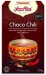 YOGI TEA® Ajurwedyjska herbata CZEKOLADOWA z CHILI (Choco Chili)