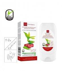 NOVA KOSMETYKI Aktywnie oczyszczający peeling do twarzy GoCranberry 75 ml