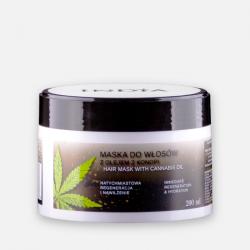 India Cosmetics Maska do włosów z olejem konopnym 200 ml.