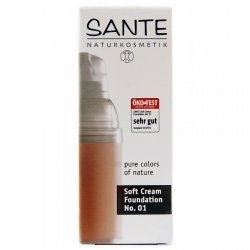 Sante Naturalny Podkład 01 Porcellan 30 ml.