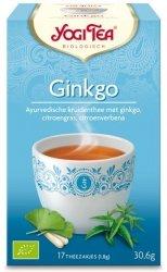 YOGI TEA® Ajurwedyjska herbata MIŁORZĄB JAPOŃSKI (Ginkgo)