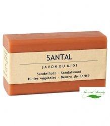SAVON DU MIDI Prowansalskie mydło z masłem karité SANTAL/drzewo sandałowe