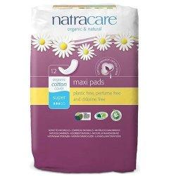 NatraCare Podpaski Higieniczne Super Klasyczne bez Skrzydełek 12 szt.