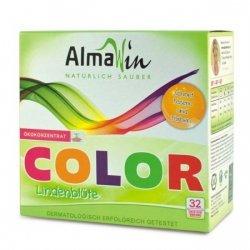 AlmaWin Skoncentrowany proszek do prania tkanin kolorowych z wyciągiem z płatków lipy 30–60°C 1 kg