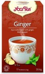 YOGI TEA® Ajurwedyjska herbata IMBIROWA z imbirem i czarnym pieprzem (Ginger)