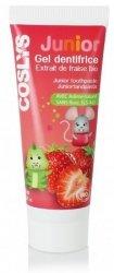 Coslys Truskawkowa pasta do zębów dla dzieci 50 ml.