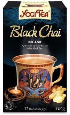 YOGI TEA® Ajurwedyjska herbata korzenna z czarną herbatą CZARNY CZAJ (Black Chai)