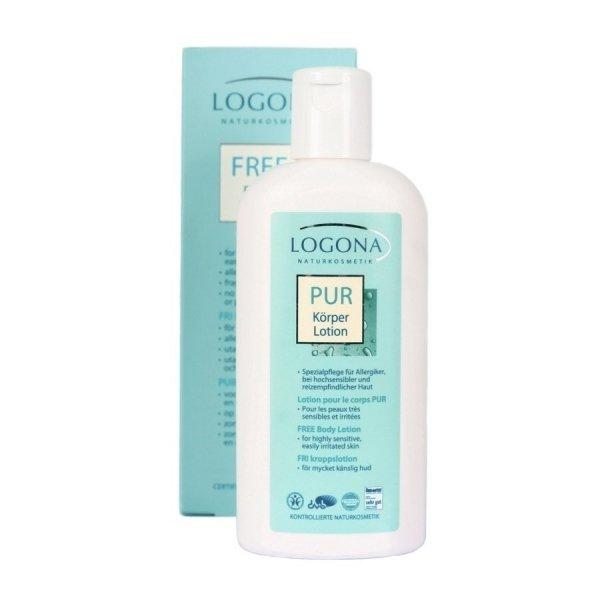 Logona PUR Lotion do ciała dla alergików 200 ml