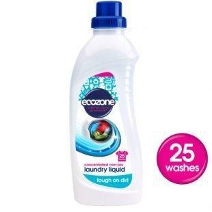 Ecozone Skoncentrowany płyn do prania non-bio na 25 prań 1 L