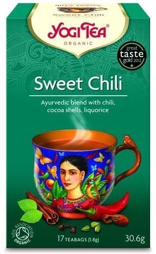 YOGI TEA®  Ajurwedyjska herbata korzenna SŁODKA CHILI (Sweet Chili)