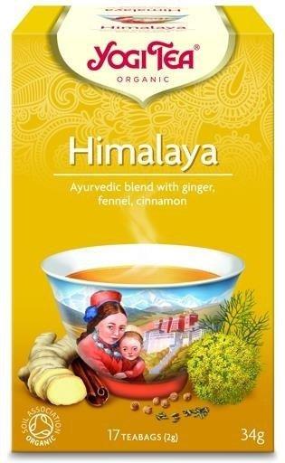 YOGI TEA Ajurwedyjska herbata Z HIMALAJÓW (Himalaya)