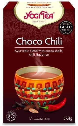 YOGI TEA Ajurwedyjska herbata CZEKOLADOWA z CHILI (Choco Chili)