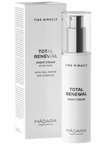 Madara Time Miracle Total Renewal zaawansowany krem przeciwzmarszczkowy na noc 50 ml