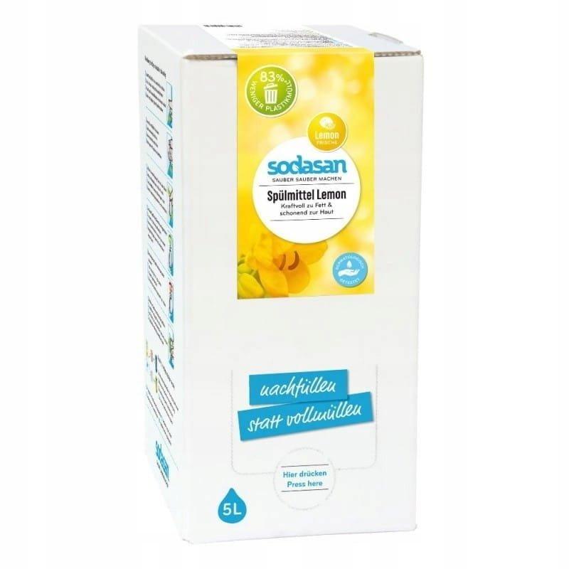 Sodasan Ekologiczny Płyn do zmywania naczyń o zapach cytrynowym 5l