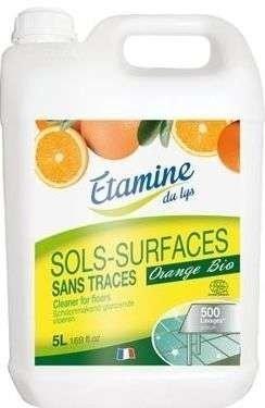 EDL Etamine Du Lys koncentrat do mycia podłóg i powierzchni użytkowych organiczna pomarańcza 5 l