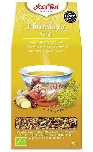 YOGI TEA  Herbata sypana CZAJ Z HIMALAJÓW (Himalaya Chai) 90 g