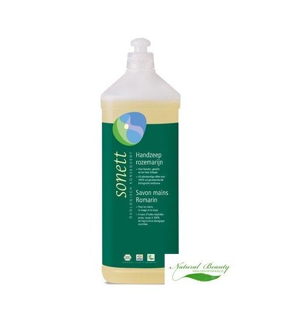 Sonett Ekologiczne Mydło do rąk i ciała  ROZMARYN 1 litr