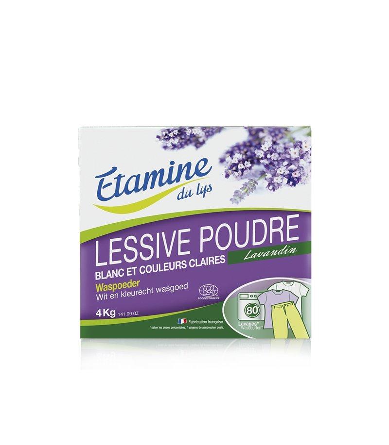 EDL Etamine Du Lys proszek do prania tkanin białych i o trwałych kolorach organiczna lawenda 4kg