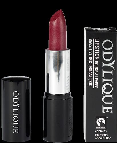 Odylique by Essential Care organiczna mineralna szminka 12 - Malinowy Mus / Raspberry Coulis, 4,5 g