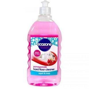 Ecozone, Płyn do mycia wszystkich rodzajów podłóg, GRANAT, 500ml