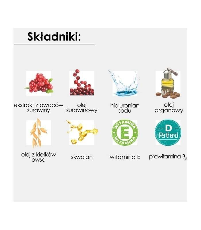 NOVA KOSMETYKI Lekka Formuła - Krem Nawilżający Do Twarzy na dzień GoCranberry 50 ml