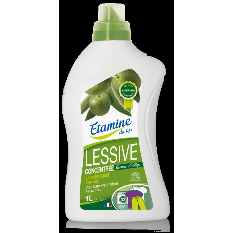 EDL Etamine Du Lys płyn do prania dla osób o wrażliwej skórze z oryginalnym mydłem z Aleppo 1 l