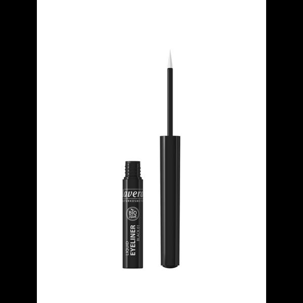 Lavera Eyeliner w płynie 01 BLACK / czarny