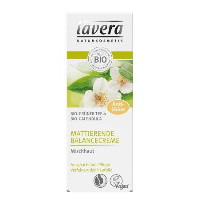 Lavera Matujący krem przywracający równowagę z bio-zieloną herbatą i bio-nagietkiem