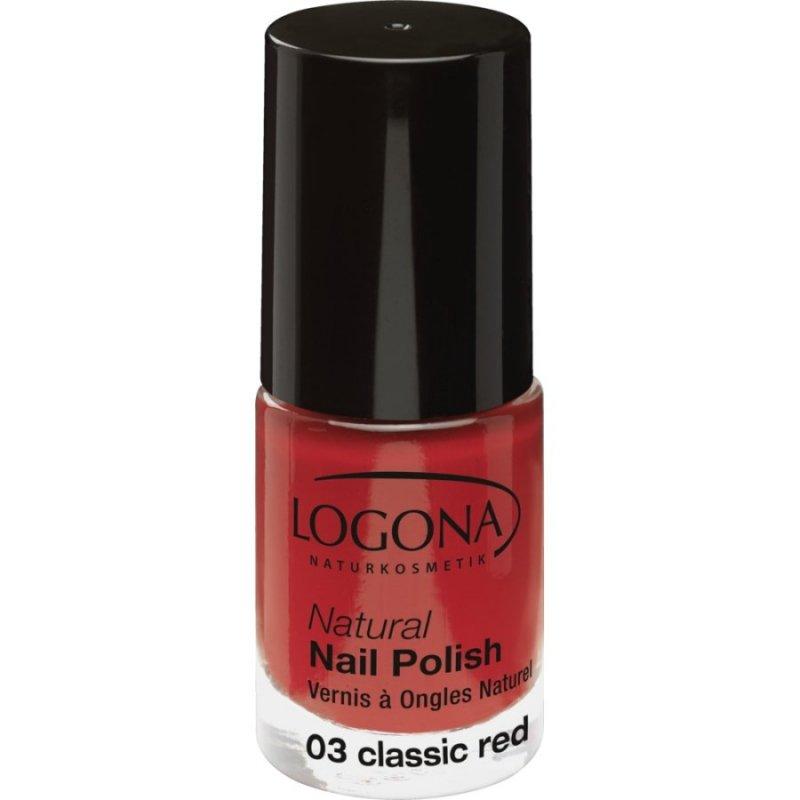 Logona Lakier do paznokci 03 classic red