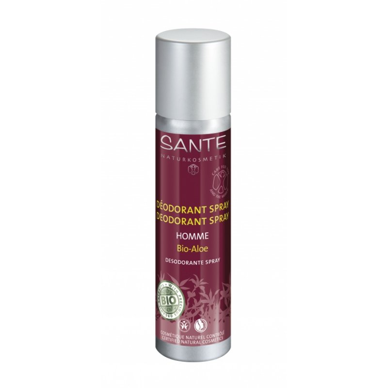 Sante Naturkosmetik HOMME Dezodorant w sprayu z bio-aloesem